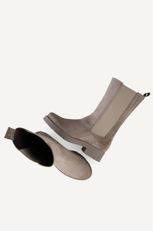 Shoecolate chelsea boots Taupe 3.20.08.366.01