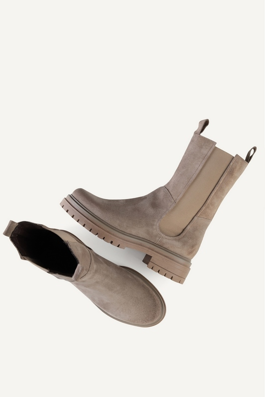 Shoecolate chelsea boots Taupe 8.20.08.850.01