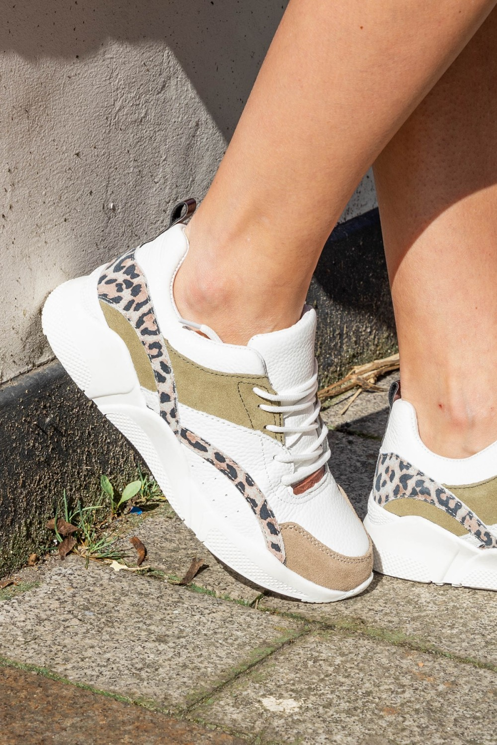 Shoecolate Lage sneaker Wit 8.10.02.127.41