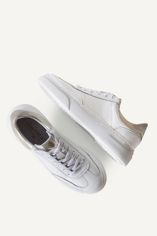 Shoecolate Lage sneaker Wit 8.11.04.085