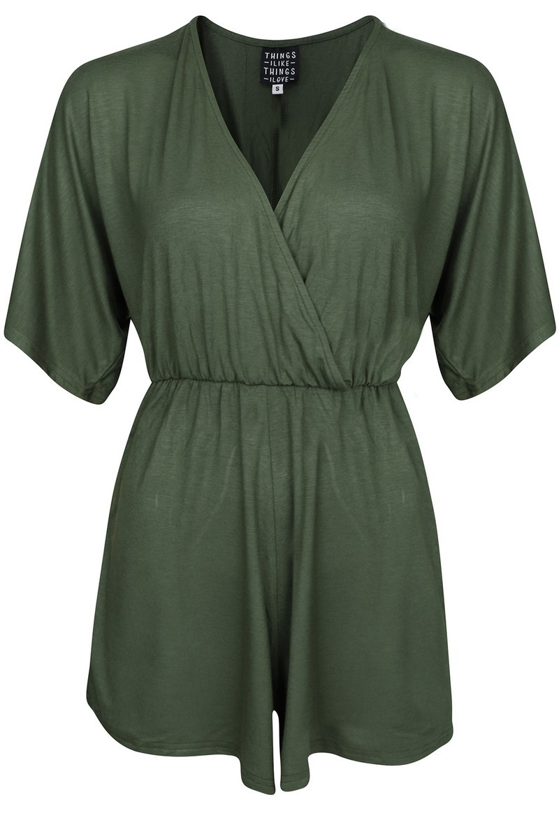 Things I Like Things I Love Jumpsuit & playsuit Groen KIMONO