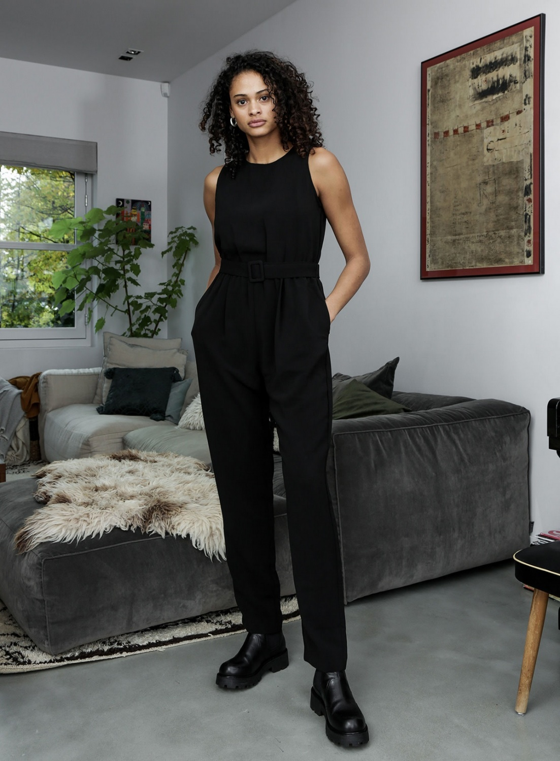 Things I Like Things I Love Jumpsuit & playsuit Zwart NORA