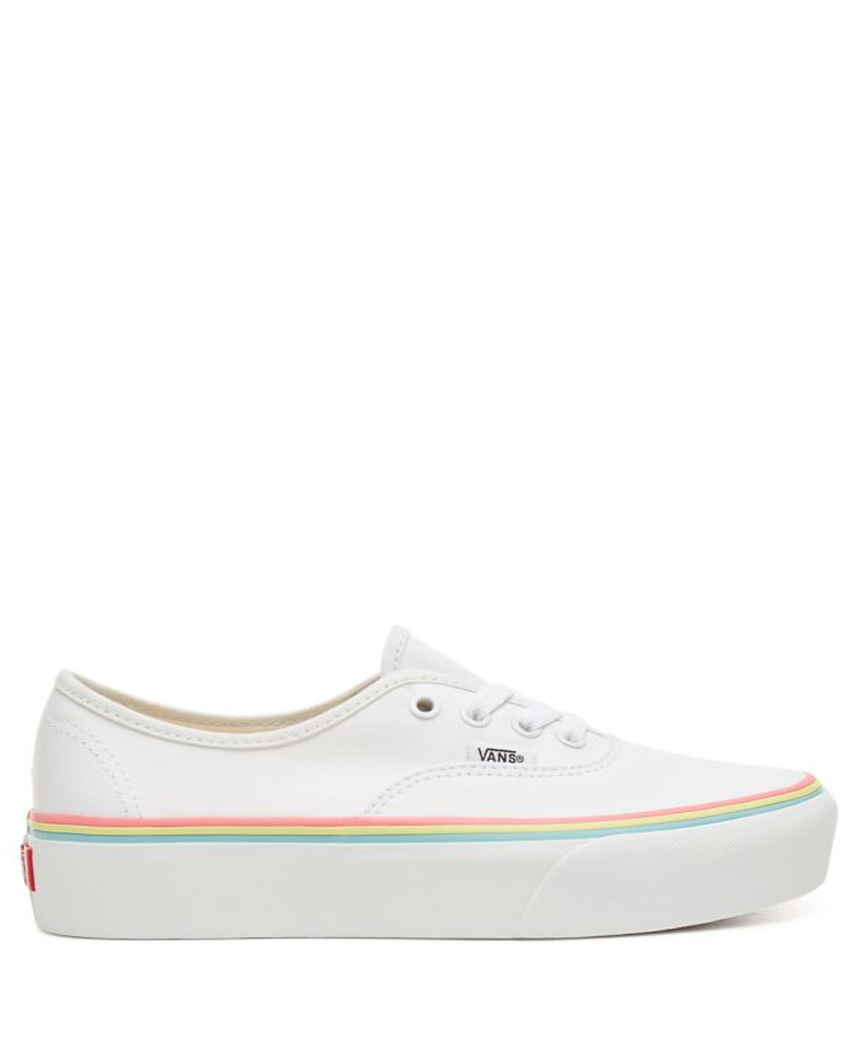 Vans Lage sneaker Wit AUTHENTIC PLATFORM